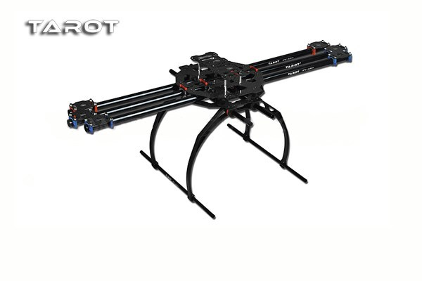 F04299 Tarot FY680 TL6801 3K Carbon Fiber Tube Full Folding Hexacopter Frame Kit 680mm for DIY FPV Aircraft 6 axle RC Drone FS цена