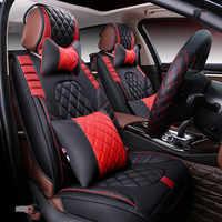 Nuevos accesorios de cuero de alta calidad de la cubierta del asiento del coche de los deportes, estilo de coche para BMW, Audi, HONDA CRV Toyota