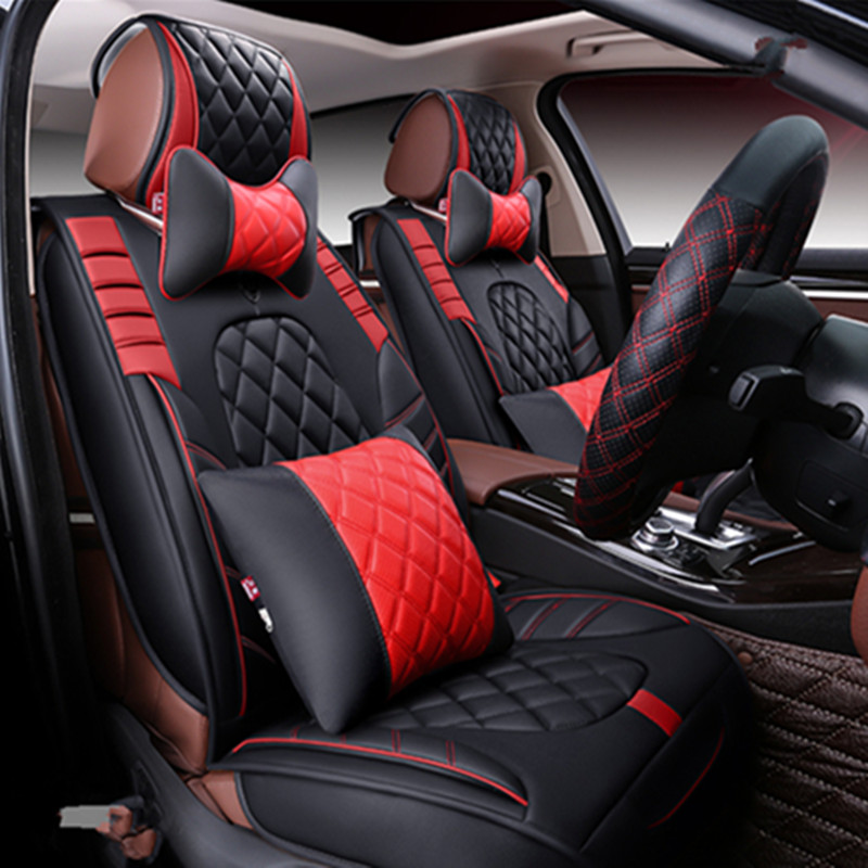 New Sports Car Seat Cover Cushion High Grade Leather Car