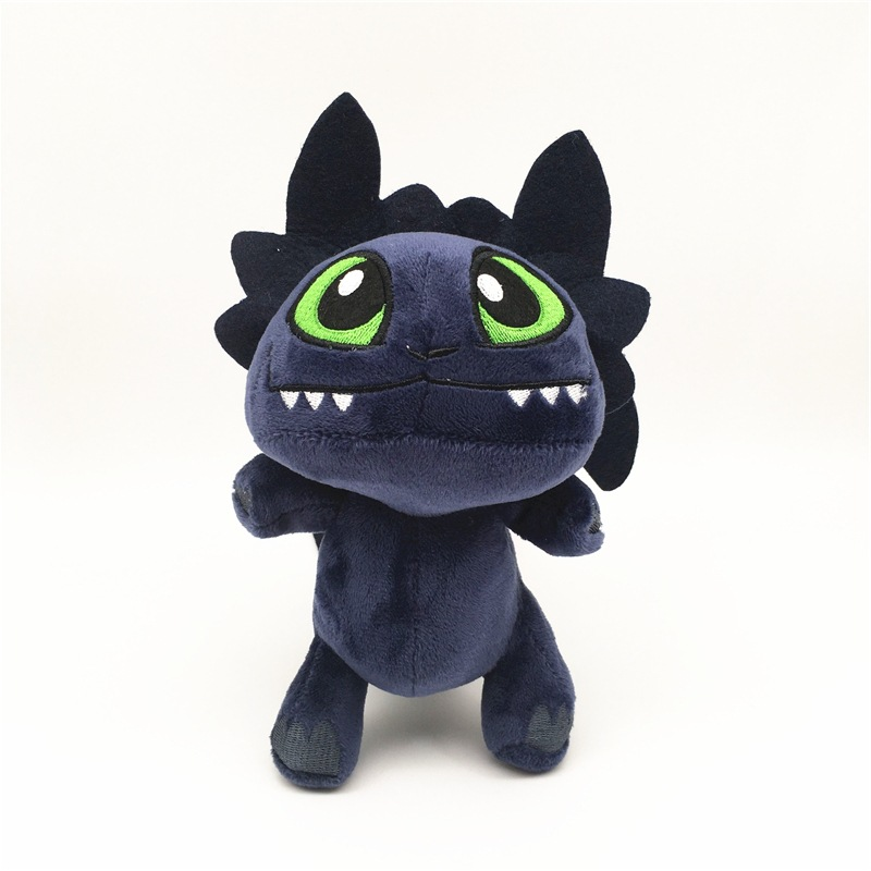 Anime How to Train Your Dragon Plush Toy Toothless Night Fury Soft Stuffed gifts