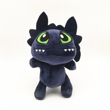 Anime How to Train Your Dragon Plush Toy Toothless Night Fury Soft Stuffed gifts mercier р night train to lisbon