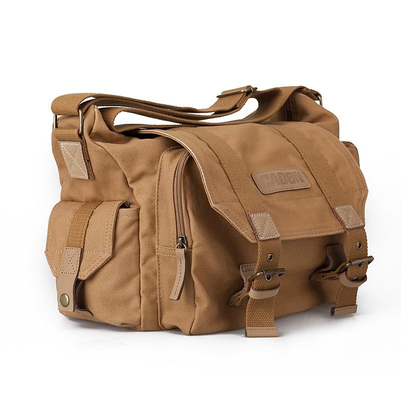 CADeN Camera Shoulder Bags Sling DSLR Video Soft Bag Pack Case Travel Camera Protective Cases for Canon Nikon Sony Pentax F1