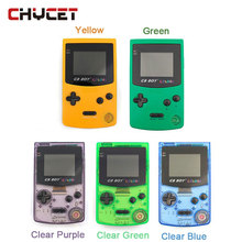 """Heißer GB Jungen Klassischen Farbe Farbe Handheld-konsole 2,7 """"Spiel Player mit Hintergrundbeleuchtung 66 Eingebaute Spiele"""