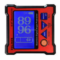 DXL360S Angle ruler Elevation meter Dual Axis Level measure box Digital Protractor Inclinometer