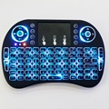 i8 RT-MWK08 Backlight Version i8 Backlit 2.4G Wireless Remote Fly Air Mouse with QWERTY Keyboard Touchpad for PC Android TV BOX