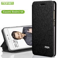 Original Mofi Xiaomi Redmi 4A Silicone Cover Flip Leather TPU Xiaomi Redmi 4A Cover Case Inner
