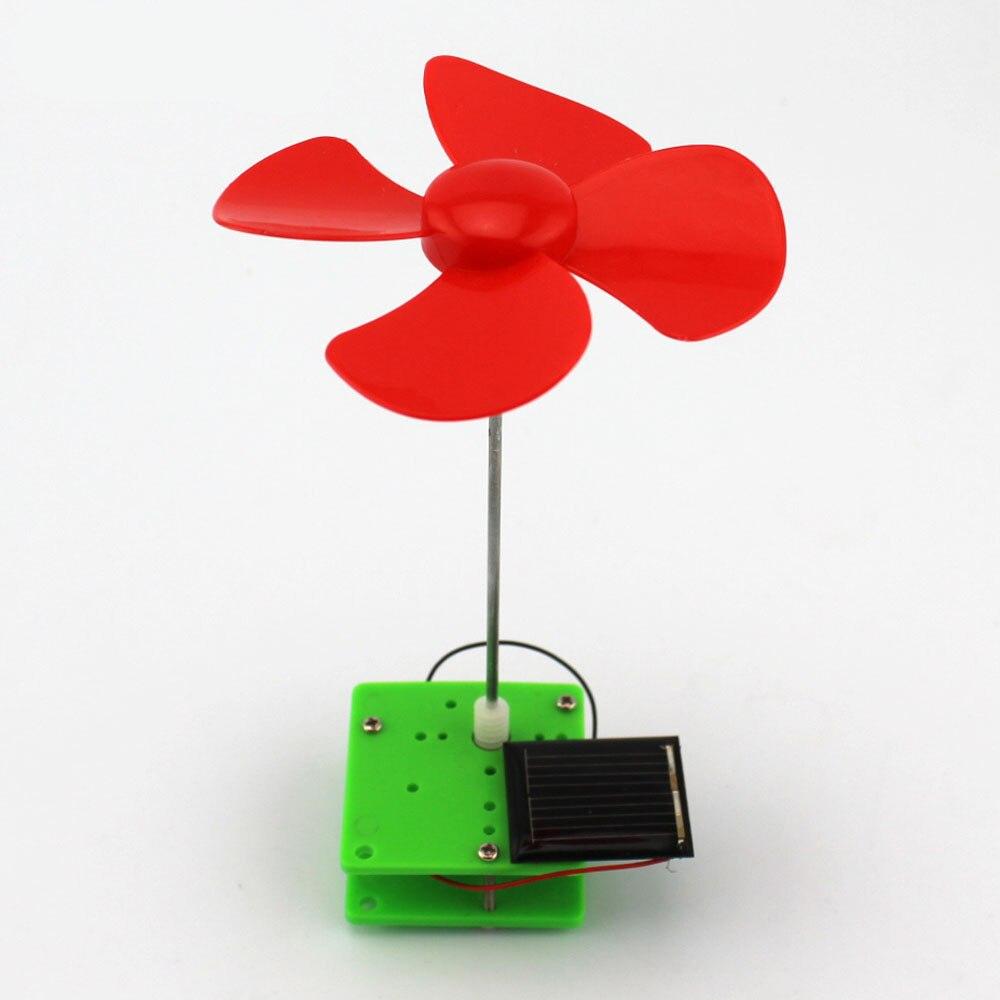 Einfache Wissenschaft Experiment Diy Solar Energie Rotierenden Wind Mühle Handgemachte Puzzle Montiert Spielzeug Kreative Physik Lehre Ressourcen Schrecklicher Wert
