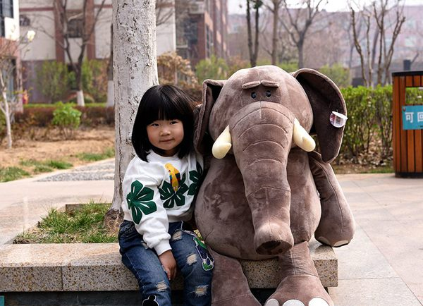 huge 100cm jungle elephant plush toy soft doll hugging pillow toy Christmas gift s2547 simulation squatting pug dog huge 78cm simulation pekingese dog plush toy soft doll hugging pillow christmas gift w1017