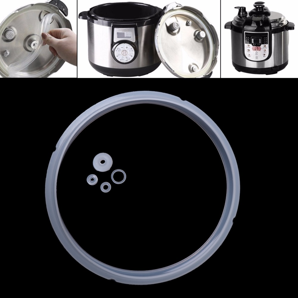 MEXI 20cm Silicone Rubber Gasket Sealing Ring For Electric Pressure Cooker Parts 3-4L