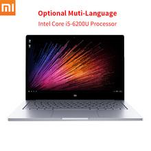 Original xiaomi mi i5-6200u de aire portátil de 13.3 pulgadas intel core cpu 8 GB RAM Intel DDR4 GPU Del Ordenador Portátil de Windows 10 SATA SSD Ultrabook(China (Mainland))