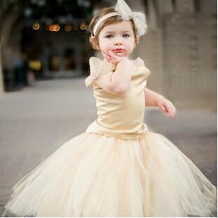 Children Wedding designer rustic flower girl gowns-fantasia ...