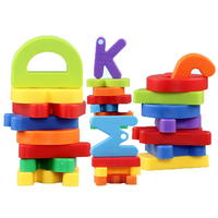 Children Skill Block Enlighten Bricks Educational Toy Blocks 3D Toy ABS Building Blocks Bullet Snowflake English