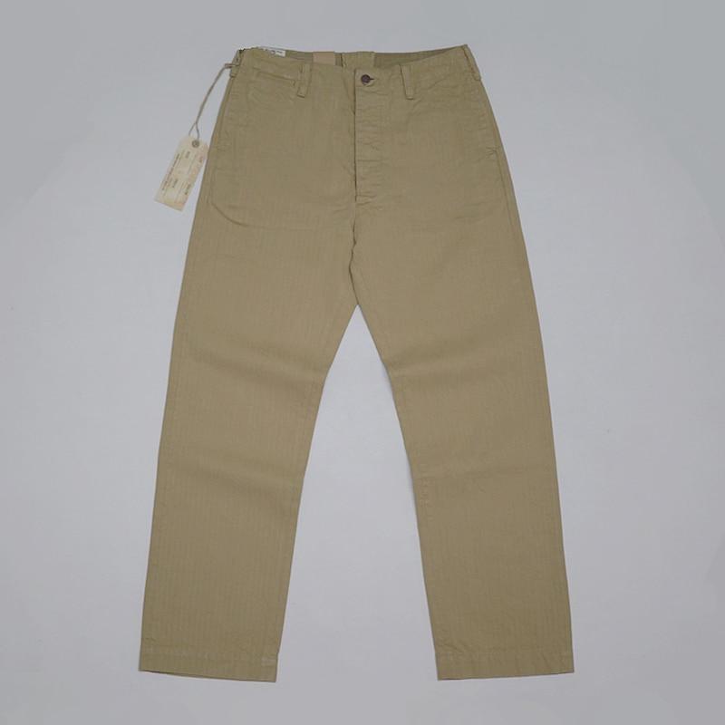 Army Militar Green De Chino Los Pantalones Oficial Repro Vintage Bob khaki Relajado Selvage Dong Caqui Hombres Hbt Casual Recto Tqnfxpa