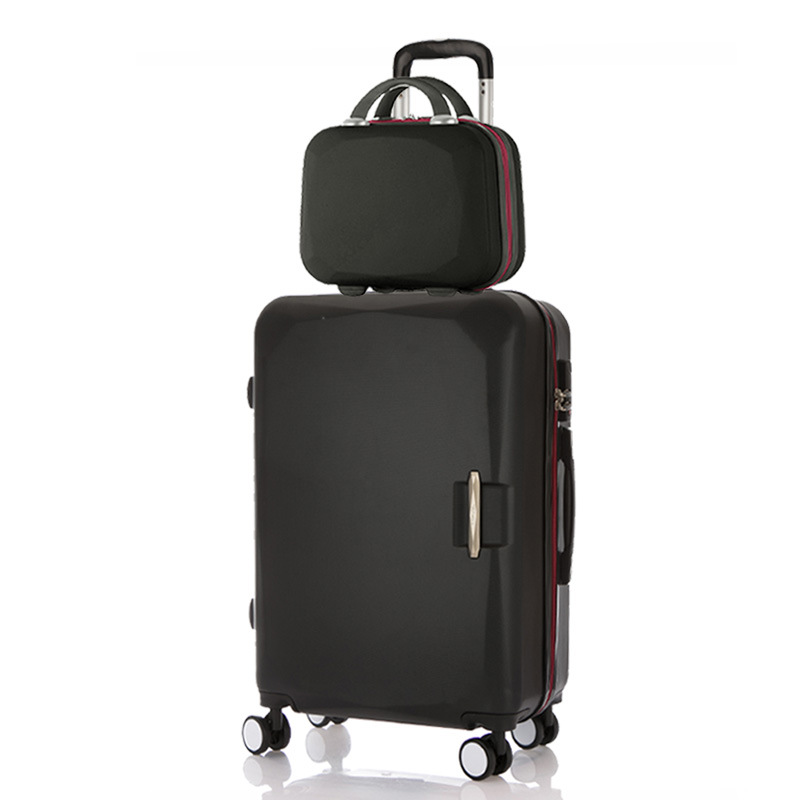 LeTrend Rolling Luggage Set Spinner Uisex Travel bag Suitcase Wheels Password Trolley 20 inch Student Carry On Hardside Trunk