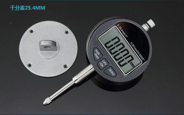 0.001mm Comparatore Digitale Preciso Micrometro 25.4 MM/1