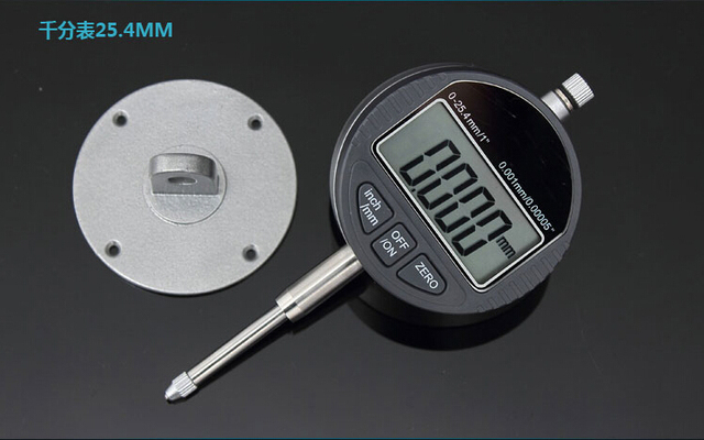 "0.001mm Digital Dial Indicator Precise Micrometer 25.4MM/1"" Micrometer Meter Vertical Electronic Dial Gauge Tools RS232 Data Out"