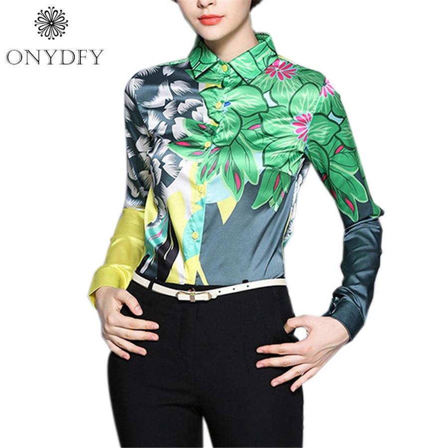 runway luxury vintage floral print sleeve shirt