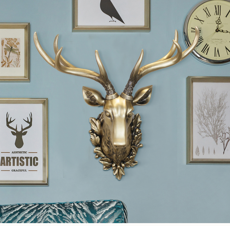 Big-Deer-Head-Statue-Home-Decoration-Accessories-3D-Animal-Abstract-Sculpture-Wall-Hang-Decor-Christmas-Statue-Living-Room-Mural