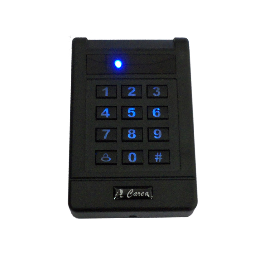 Password Keypad Standalone Access Controller for Wiegand 125khz Rfid ID Card Reader Door Lock Access Control Card Capacity 1000 whole sale elegant mf1 card access control with touch screen keypad 3000pcs cards capacity wiegand in and out support