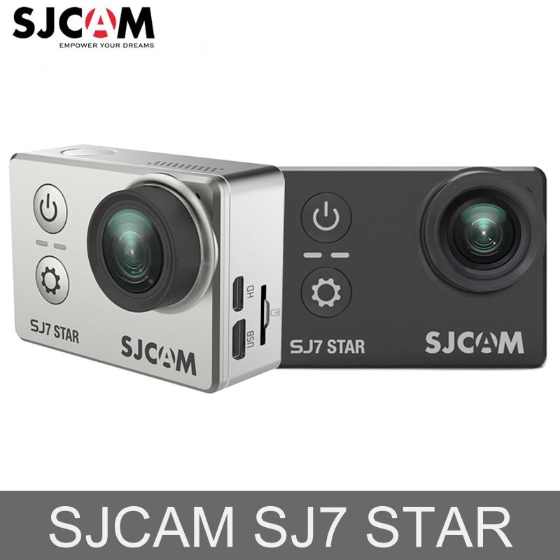 Orijinal SJCAM SJ7 YıLDıZ 12MP Eylem Kamera Wifi 4 K 2 '' - Kamera ve Fotoğraf