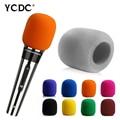 + Cheap Sale+Free Shipping + High Quality Silver Grey Handheld Stage Microphone Windscreen Foam Mic Cover Karaoke DJ Sales
