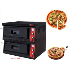 220v/3n-380v Electric Pizza Oven DR-2-4 High quality Commercial Pizza oven 2-layer pizza ovens Western kitchen roaster stove 1pc цена и фото