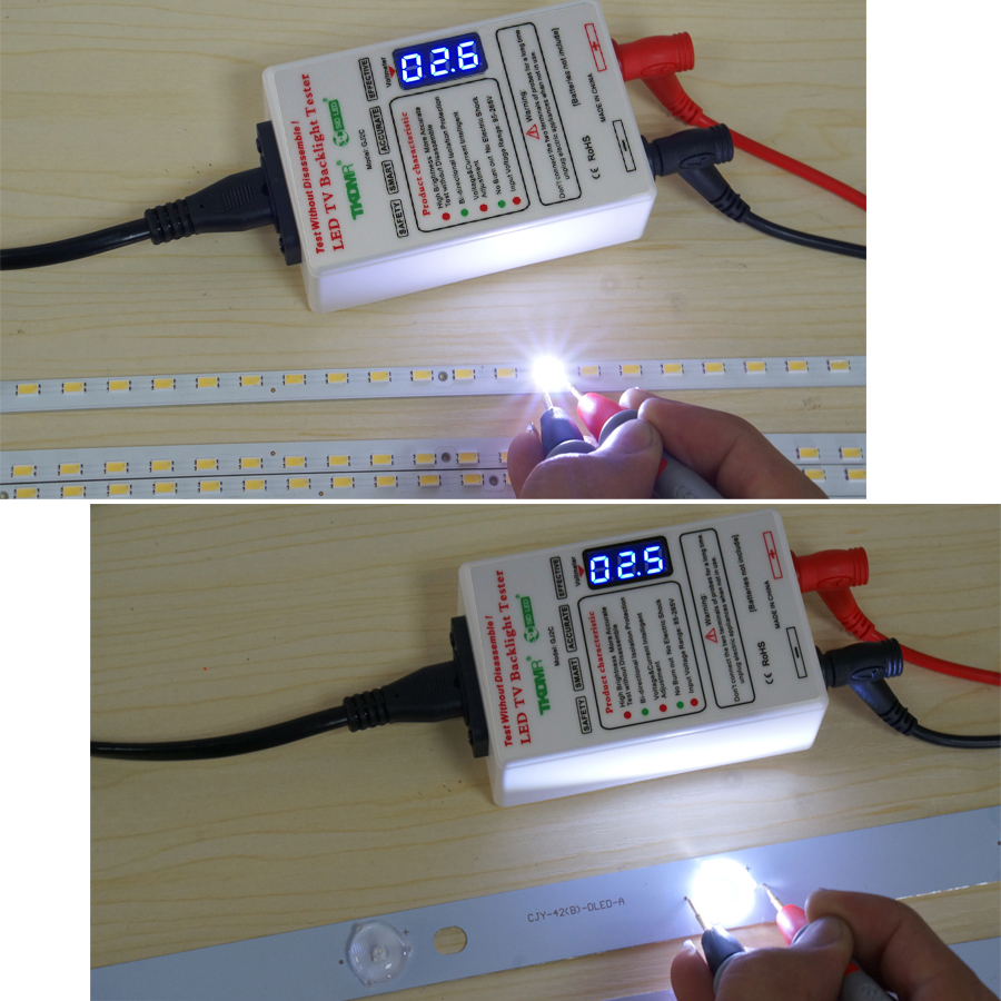 Salida TKDMR 0-330V Cuentas de lámpara LED Herramienta de prueba de - Instrumentos de medición - foto 3