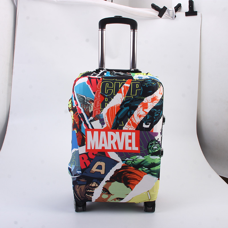 The Avengers Superhero Luggage Protective Cover,Trolley Case Suitcase Dust Cover Travel Accessories Suitable 18-22 Inch