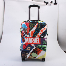 The Avengers superhero Luggage Protective Cover,Trolley Case Suitcase Dust Cover Travel Accessories Suitable 18-32 Inch