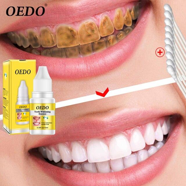 10 ml Blanqueamiento Dental suero de limpieza esencia líquido mágico producto Dental para la higiene bucal elimina las manchas de placa agua
