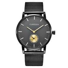Брендовые оригинальные мужские часы curdden модные водонепроницаемые