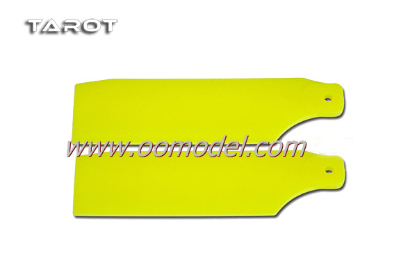 Tarot 450 parts PS Tail Blade Fluorescent TL45035-05 Yellow RC Helicopter Parts Tarot 450 spare parts FreeTrack Shipping tarot 250 parts metal shaft drive tail gear box ms25026 2 00 tarot 250 rc helicopter spare parts freetrack shipping