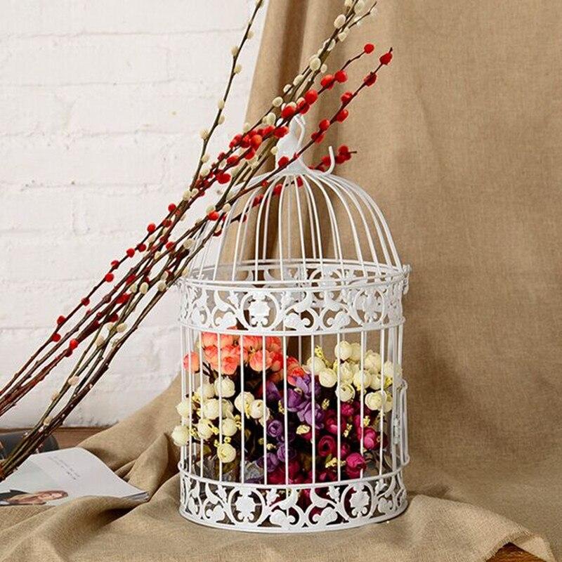 Bruiloft vogelkooi klassieke een kooi voor vogels iron for Vogelkooi decoratie
