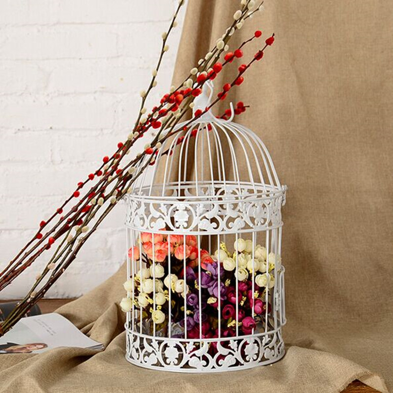 wedding bird cage classic a cage for birds iron bird cage decoration high quality european cage. Black Bedroom Furniture Sets. Home Design Ideas