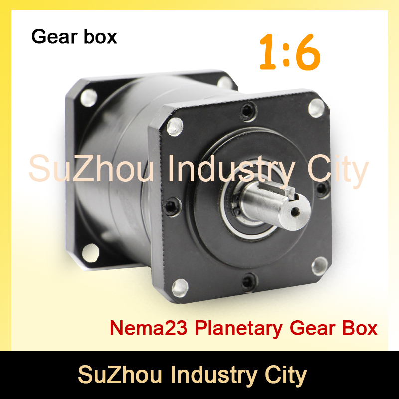 1:6 Nema23 stepper Motor Planetary Reduction Ratio 6:1 planet gearbox 57 motor speed reducer, High Torque high quality !! 8 inch video door phone doorbell intercom system home access control system rfid video recoreding and photo storage and playback