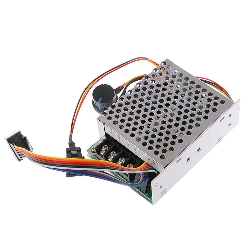 DC 10-50V 12V 24V 48V 60A PWM DC Motor Speed Controller CW CCW Reversible Switch