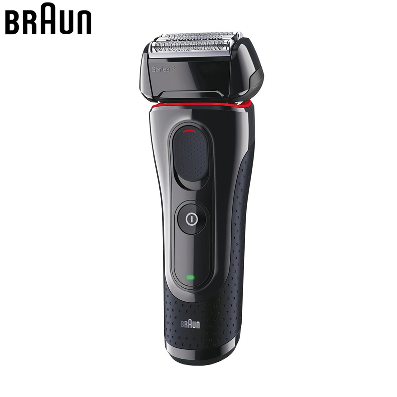 Braun Man Electric Shavers Razor 5030s Rechargeable Reciprocating Blades HighQuality shaving Razor machine quick charge 100-240v braun electric shavers 5030s rechargeable reciprocating blades high quality shaving safety razors for men