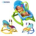 Alta calidad y hermoso bebé mecedora silla de múltiples funciones eléctrico niño mecedora bebé cama cuna mecedora