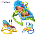 High quality and lovely baby rocking chair multi-function electric chair child rocking baby cradle bed rocking chair