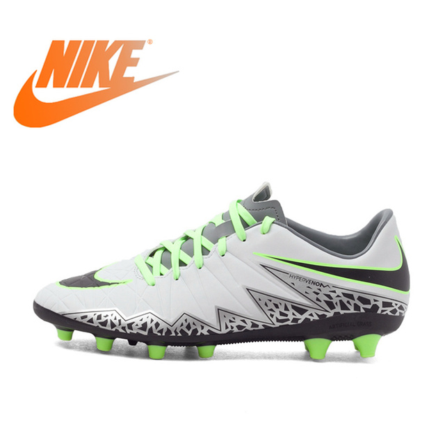 97f40939d9dd Original Authentic NIKE HYPERVENOM PHELON II Men s Light Comfortable  Football Shoes Soccer Breathable Sneakers Outdoor Lawn