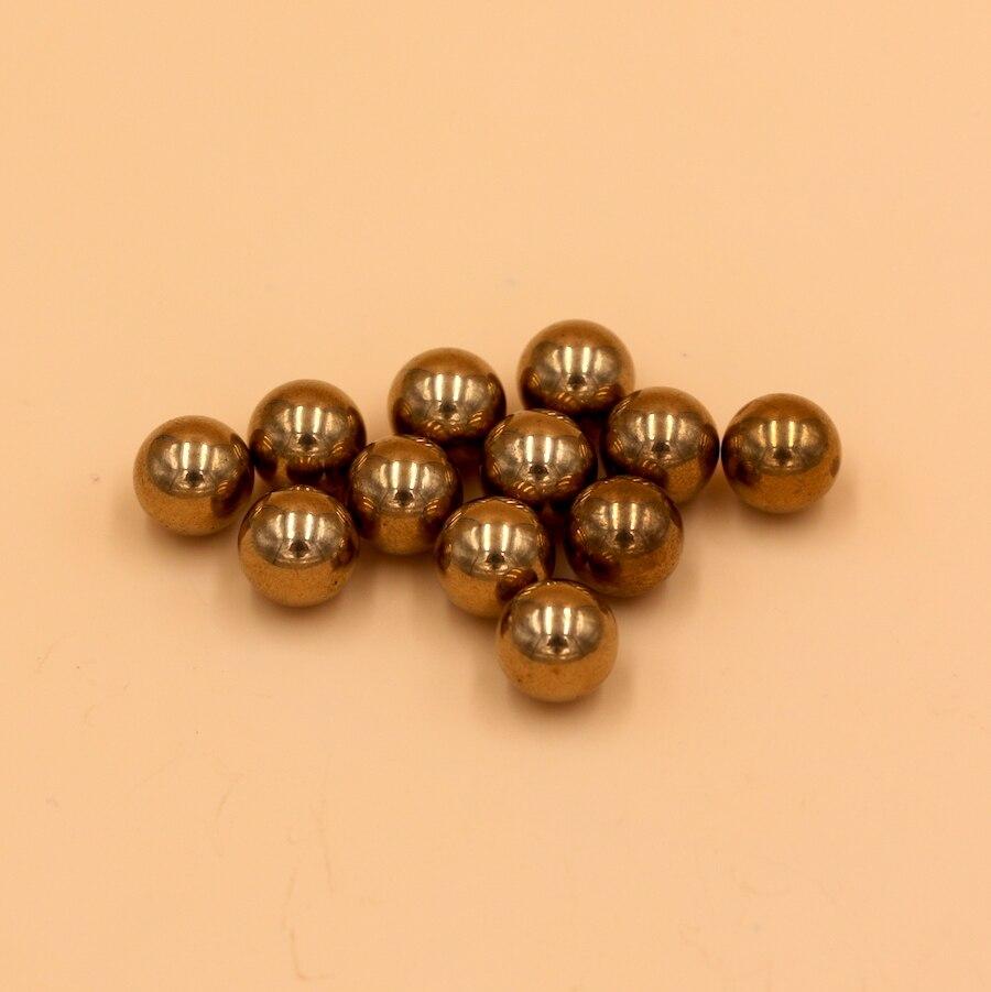 12.7 millimetri (1/2 ) 200 PCS In Ottone (H62) Solido Sfere per Cuscinetti12.7 millimetri (1/2 ) 200 PCS In Ottone (H62) Solido Sfere per Cuscinetti