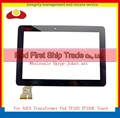 "High Quality 10.1"" For ASUS Transformer Pad TF103 TF103C Touch Screen Digitizer Sensor Panel Front Glass Lens Black White"