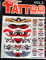 Professional Tattoo Flash Magazine Book A4 40 page Sketch Tattoo Design Book Supply For Tattoo Body Art Free Shipping TB-144-2