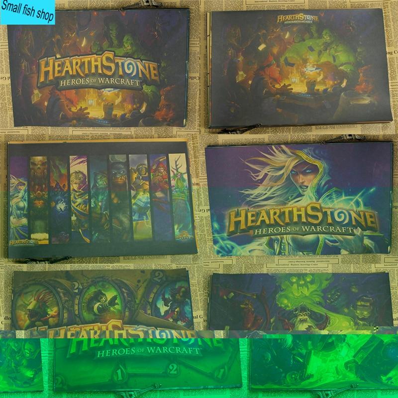Hearthstone Game Poster Domácí výzdoba výzdoby Kraft Game Poster - Dekorace interiéru
