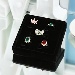 N & Z Новый палец кольцо для хранения Женщины серьги стержня уха Дисплей лоток организатор шкатулка упаковка витрина GD014