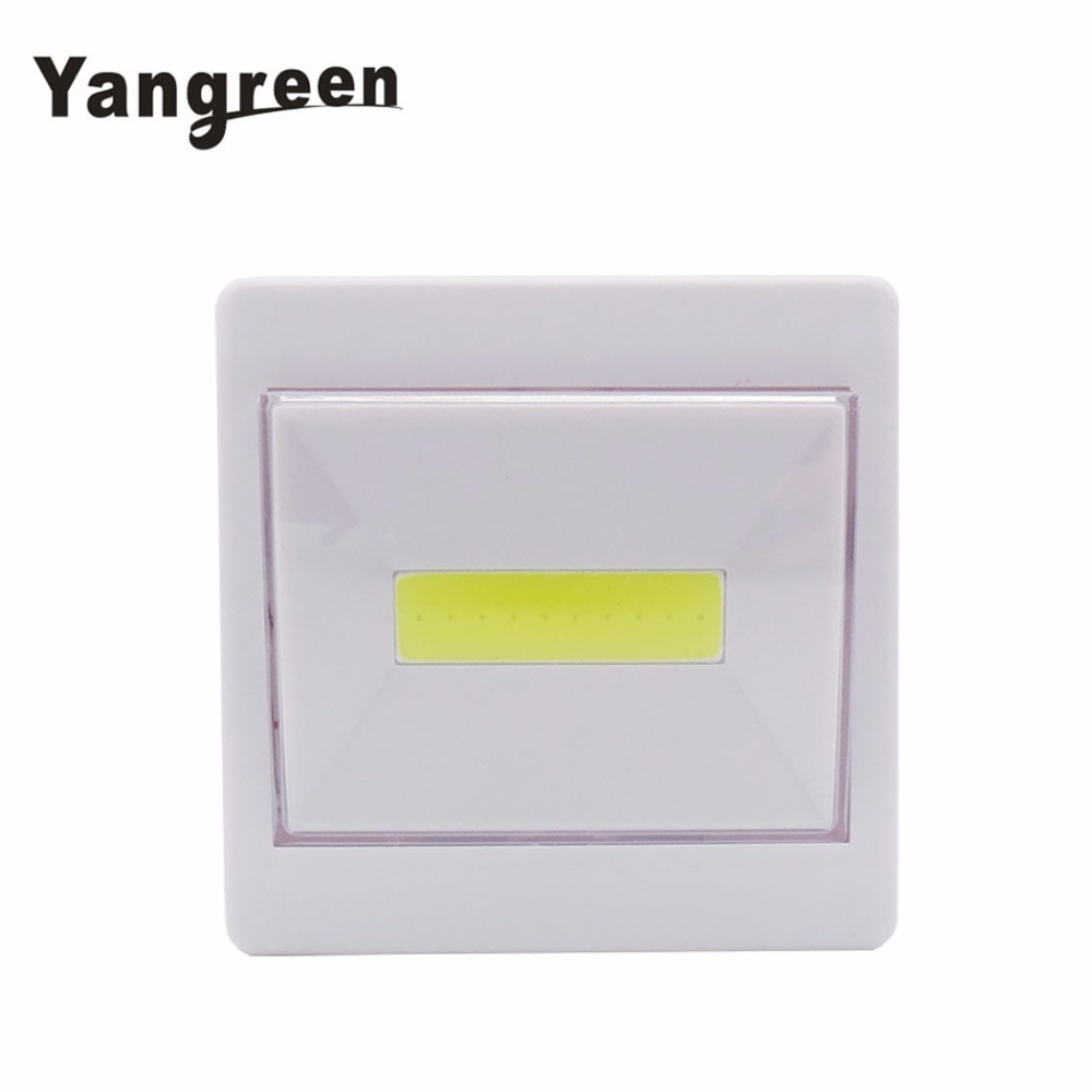 New Arrival Magnet COB LED Night Light Battery Powered Emergency Lamp Kitchen Corridors Parking Toilet Lights Ultra Bright light