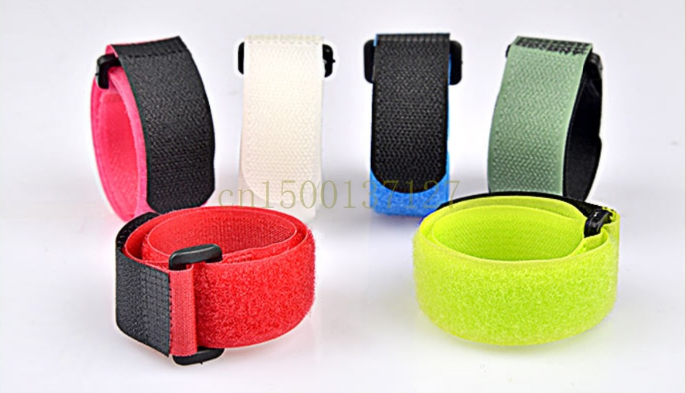 2.5MM 400MM 6pcs/lot  buckle Velcro magic tape seld adhesive cable tie