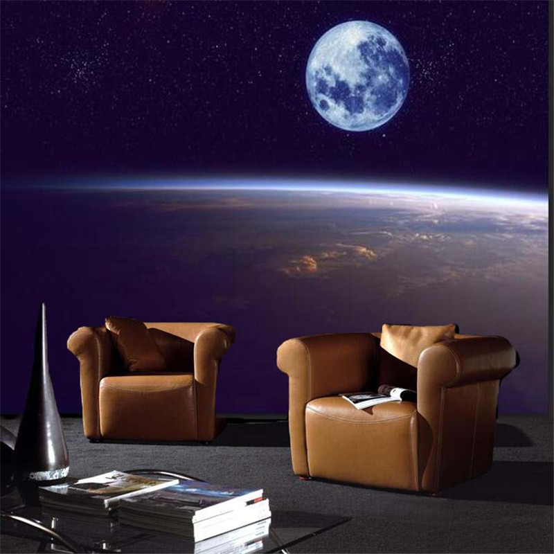 Compare prices on universe wallpapers online shopping buy for Universe wallpaper for bedroom