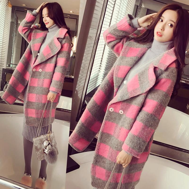 Popular Plaid Wool Coats-Buy Cheap Plaid Wool Coats lots from
