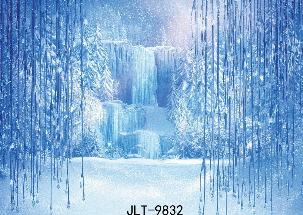 6x4 m SJOLOON neige photographie Fond Fond studio photo vinyle bébé Photo arrière-plan enfants photographie toile de Fond